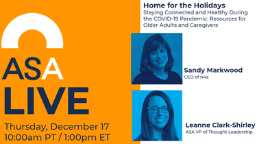 ASA Live: Home for the Holidays