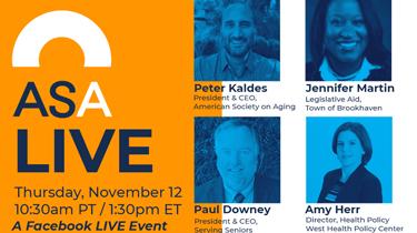 ASA Live: Policy