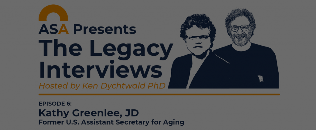 ASA Legacy Interviews - Episode 6 with Kathy Greenlee, JD
