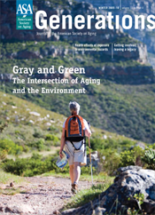 Gray and Green:Intersection and Aging and the Environement