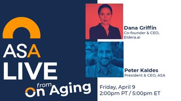ASA Live: Peter Kaldes & Dana Griffin